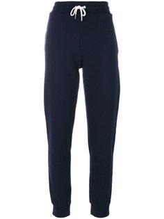 спортивные брюки с завышенной талией  Maison Kitsuné