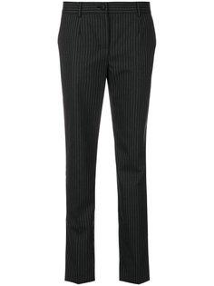 брюки скинни в тонкую полоску Dolce & Gabbana