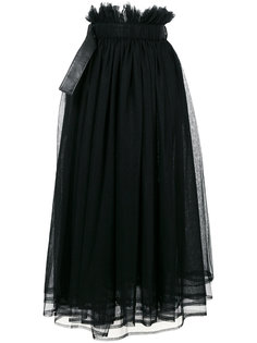 long tulle skirt  Comme Des Garçons Noir Kei Ninomiya