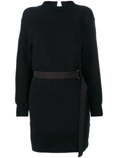 платье-джемпер с поясом  Sacai