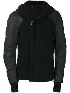 padded hoodie jacket Andrea Yaaqov