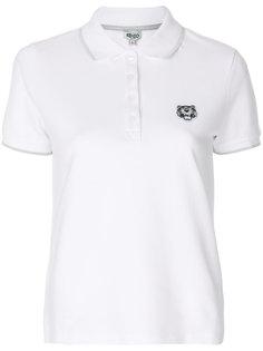 рубашка-поло с заплаткой с тигром Kenzo