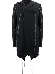 куртка с капюшоном с открытой строчкой Masnada