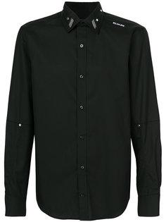 рубашка с бляшкой с логотипом Icosae