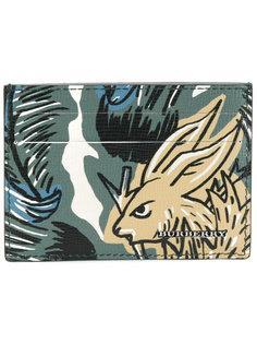 визитница с принтом кролика Burberry