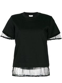 sheer underlay T-shirt  Comme Des Garçons Noir Kei Ninomiya