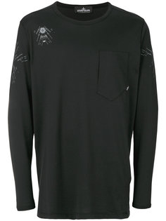 garment dyed long sleeve top Stone Island Shadow Project