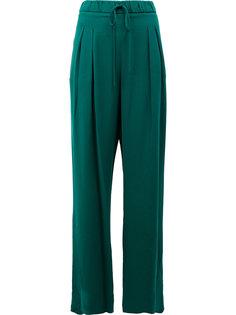 широкие брюки с плиссировкой спереди Maison Ullens