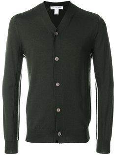 кардиган с полосатой отделкой Comme Des Garçons Shirt