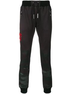 спортивные брюки с нашивкой логотипа Philipp Plein