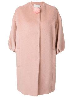 пальто с пуговицей-помпоном LAutre Chose