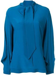 блузка с завязками на бант Capucci