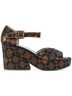 Diamond sandals  Paola Darcano