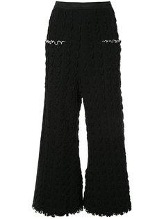 укороченные брюки с оборками  Theatre Products