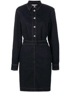 джинсовое платье-рубашка  Stella McCartney