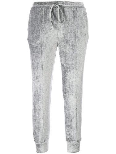 бархатные спортивные брюки скинни  Andrea Ya'aqov