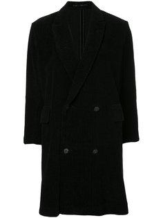 пальто с отделкой в рубчик  Theatre Products