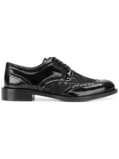 броги на шнуровке Dolce & Gabbana