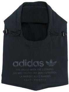 шапка-капюшон с принтом логотипа Adidas Originals