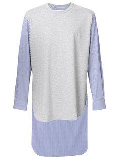 shirt panel sweatshirt Comme Des Garçons