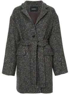 пальто с поясом  Goen.J