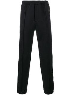 спортивные брюки с голубыми полосками Fendi