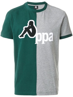 двухцветная футболка Kappa