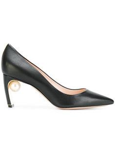 туфли-лодочки с жемчугом Maeva Nicholas Kirkwood