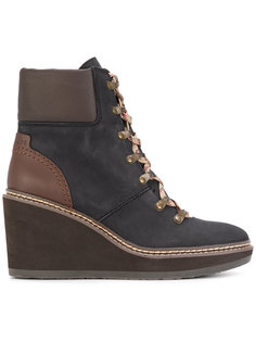 hiking style wedge boots See By Chloé