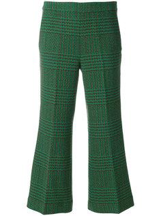 укороченные брюки с вышивкой LAutre Chose