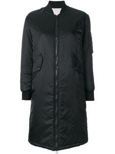 long bomber jacket  As65