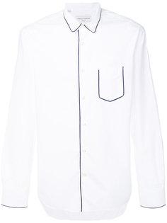 рубашка с контрастной окантовкой Officine Generale