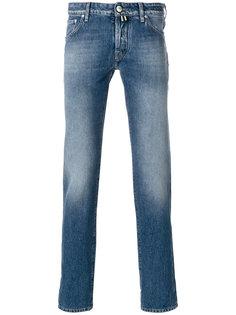 джинсы с линялым эффектом Jacob Cohen