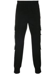 спортивные брюки с камуфляжным принтом Neil Barrett