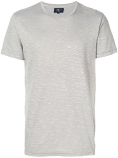 футболка с круглым вырезом 7 For All Mankind