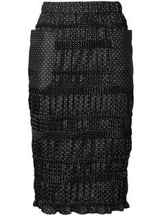 плиссированная юбка в горошек  Theatre Products