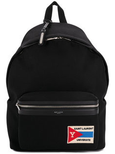 рюкзак с передним карманом на молнии Saint Laurent