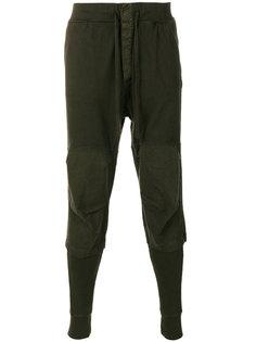 спортивные брюки с панельным дизайном Andrea Yaaqov