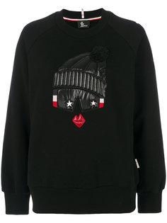 пуловер с вышивкой Moncler Grenoble
