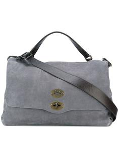 сумка-тоут с откидным клапаном Zanellato