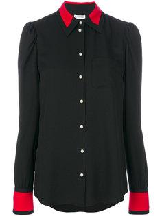 рубашка с контрастной отделкой  Altuzarra