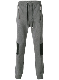 спортивные брюки со стегаными панелями Les Hommes Urban