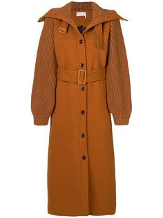пальто с высоким воротом  Chloé