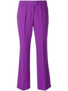 расклешенные брюки с плиссировкой Boutique Moschino