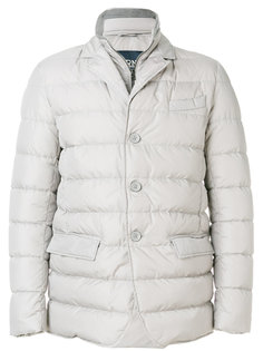 утепленная куртка в стиле пиджака Herno