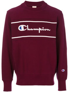 logo panel sweatshirt  Champion