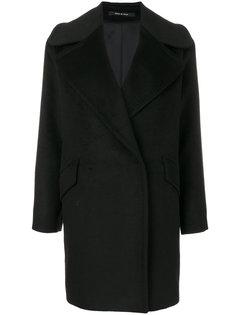приталенное строгое пальто  Tagliatore