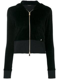 velour hoodie Versace