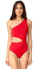 OYE Swimwear Kim One Shoulder Swimsuit