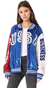 ASHISH USA Dodgers Varsity Jacket